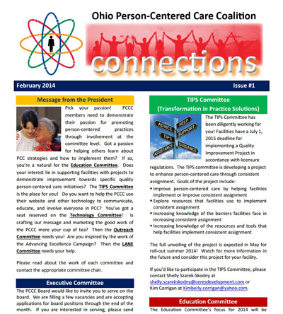 February 2014 Newsletter - Connections